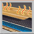 Floating Radiant Heat Film