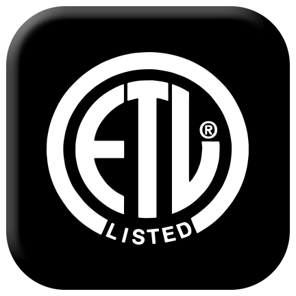 ETL listed for safety