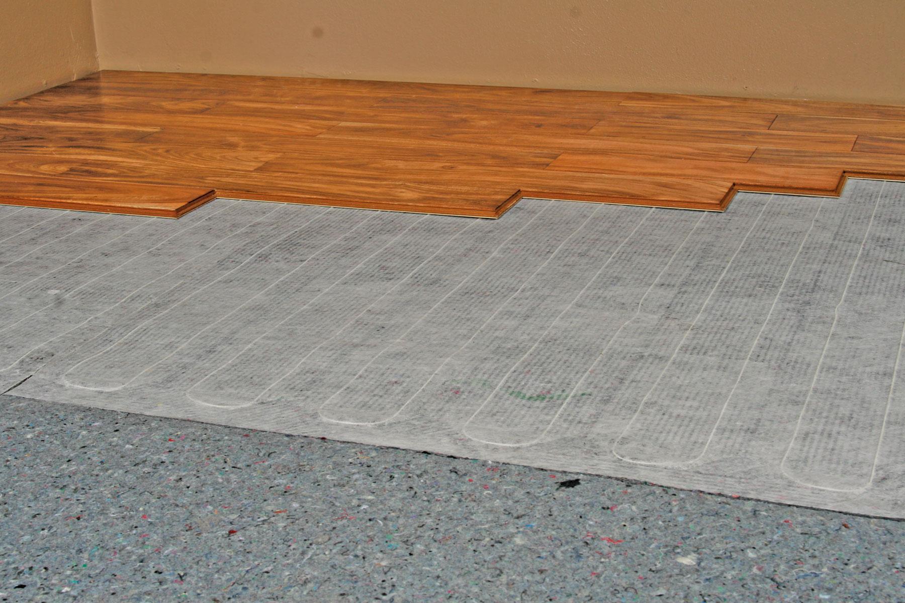 Padding for laminate flooring wood floors for Wood floor under carpet