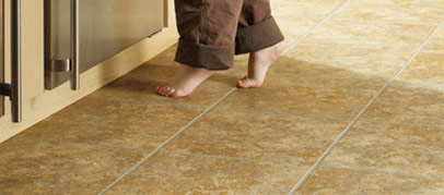 Perfectly Warm Radiant Heat tile