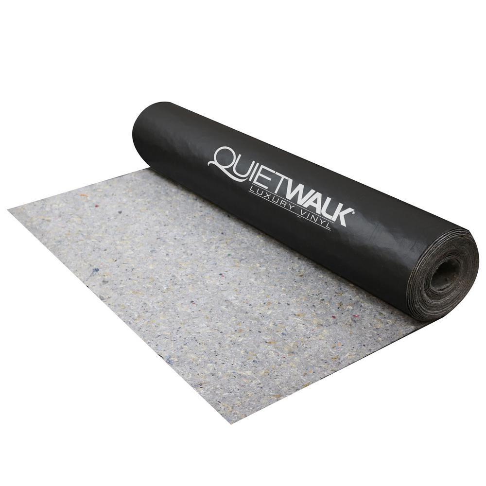 QuietWalk Luxury Vinyl - Recycled Flooring Underlayment for