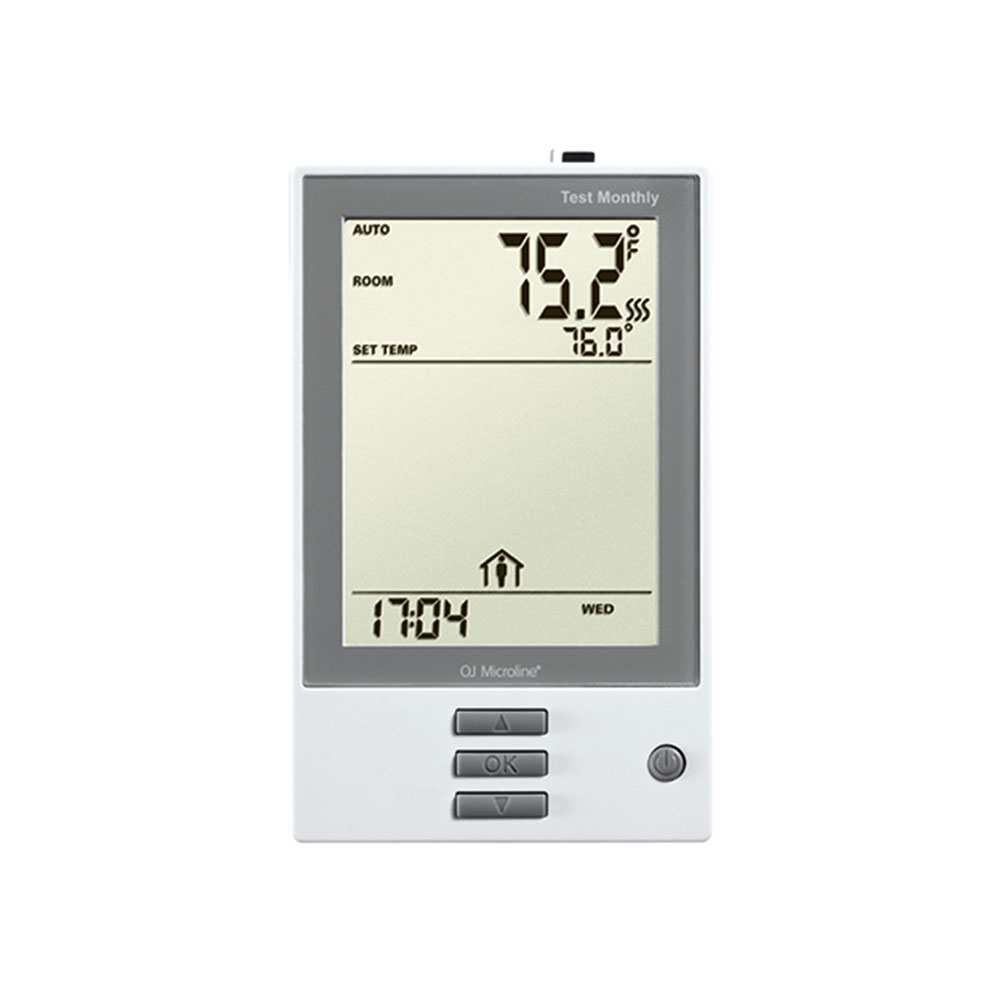 7-Day Programmable Thermostat for Floor Heating Systems