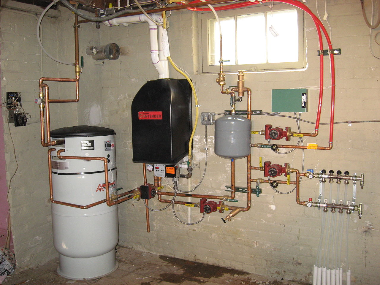 Radiant Heat Hydronic System Example