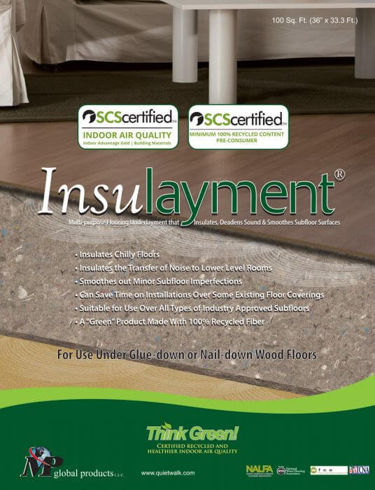 Insulayment - 100 sq. ft.