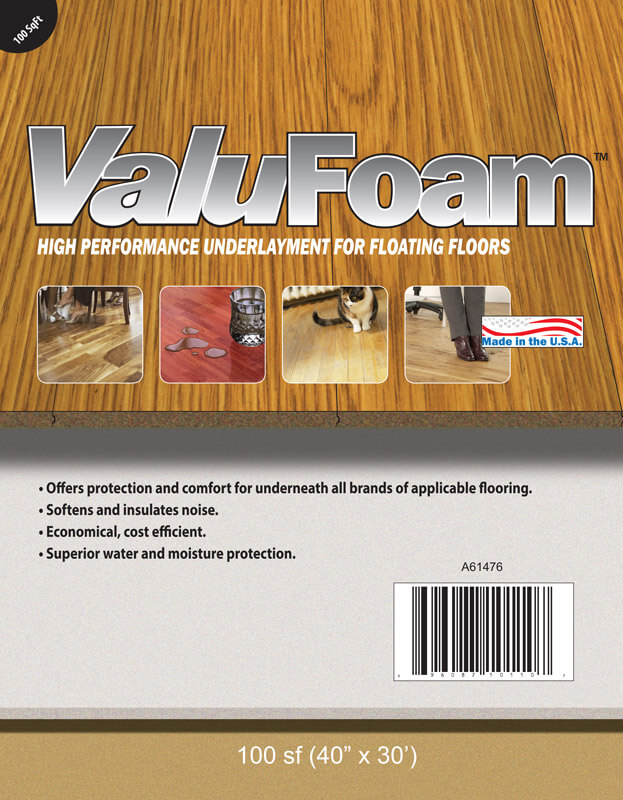 ValuFoam - 100 sq. ft.