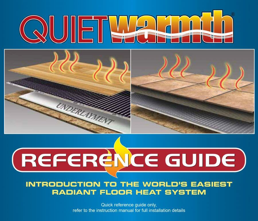 QuietWarmth Reference Booklet